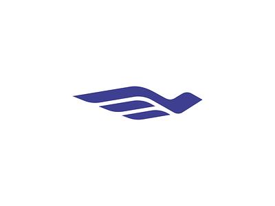 Dove wings logo minimalist bird logo dove logo wings bird dove