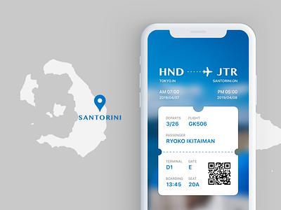 Daily UI #24 BoardingPass uidesign boardingpass dailyui024 dailyui