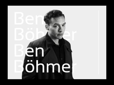 Ben Böhmer Cover