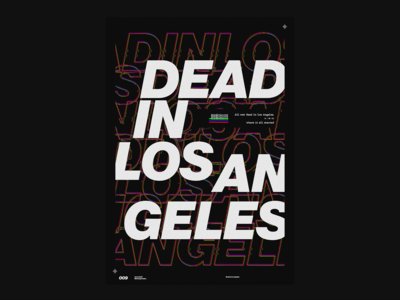 Dead in Los Angeles Poster