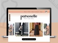 Patronelle Website
