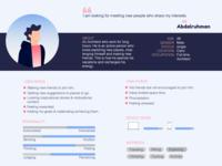 Offbucket mobile app: User Persona (UX)