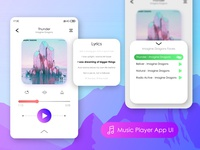 Music Player App UI - Part 1