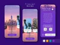 Travel Guide App UI