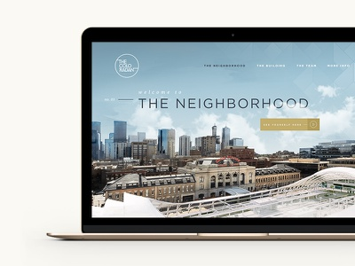 The Coloradan landing page real estate hannah purmort the coloradan lifestyle luxury gold legwork