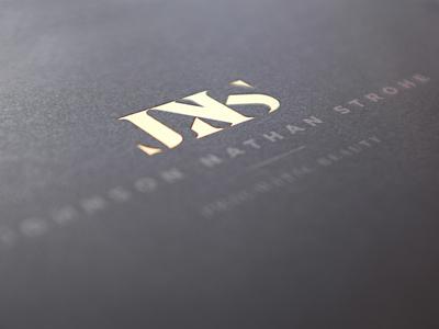 Johnson Nathan Strohe logo design hannah purmort print design branding architecture denver modern jns minimal logo