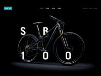 Yeti Cycles Landing Page