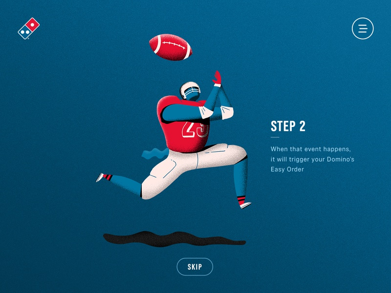 Domino's Pizza + IFTTT ux illustration responsive layout animation grain infinite scroll ux gif microinteractions ui animation minimal layout tutorial animation ux ui minimal website web design illustration ifttt awwwards fwa legwork studio dominos pizza