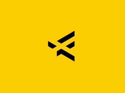 Formik Logo Design type design shadow negative space minimal logo f f logo icon vector design print design brand identity modern typography logo design branding hannah purmort minimal logo