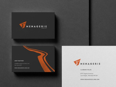Menagerie Climbing Holds - Brand Identity