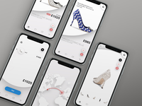 Manolo Online Store concept for iPhone X