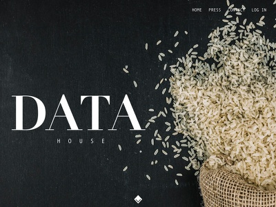 Data House interface invisionstudio invision interace branding ux user experience ui sketch product design design dailyui creative application app