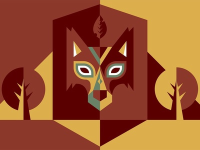 Lion Mask Artwork
