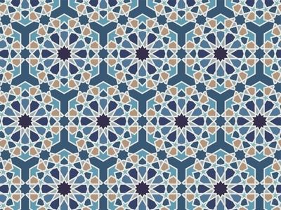 Arabic Pattern Illustration