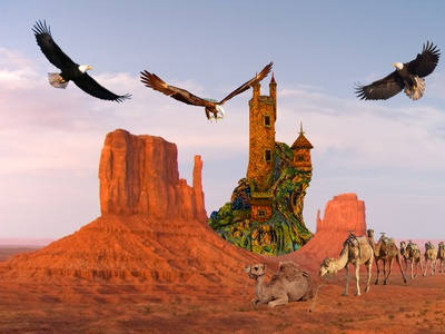 Matte Painting made by me