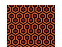 Carpet Pattern from the horror movie 'The Shining'