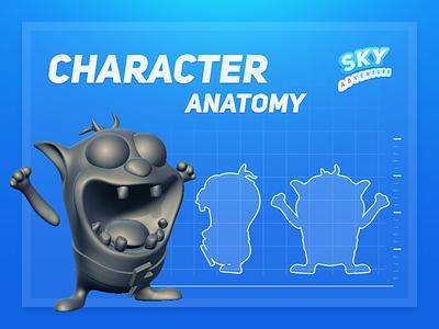 Sky Adventure   Character idea ui casual sculpt zbrush blueprint casual-games design mobile ios game art direction 3d