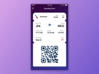 Boarding Pass – Daily UI #024