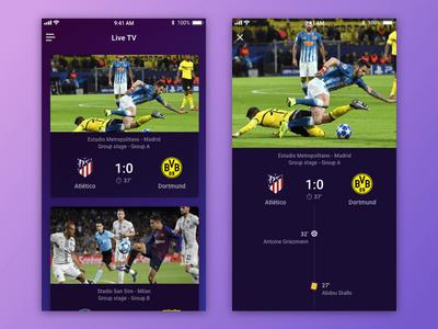 TV App – Daily UI #025 app tv app dailyui 025 dailyui