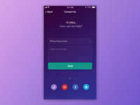 Contact Us - Daily UI #028