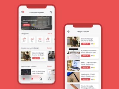 Course App Experimental Redesign