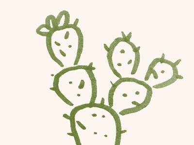 Cactus Sketch