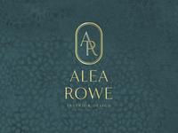 Alea Rowe Interior Designer Logo
