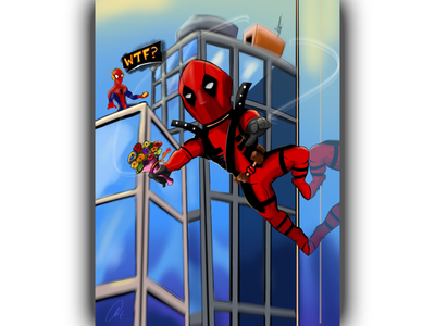 Neighborhood friendly Deadpool