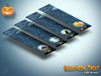 Halloween Treat Game For Watch Isometric