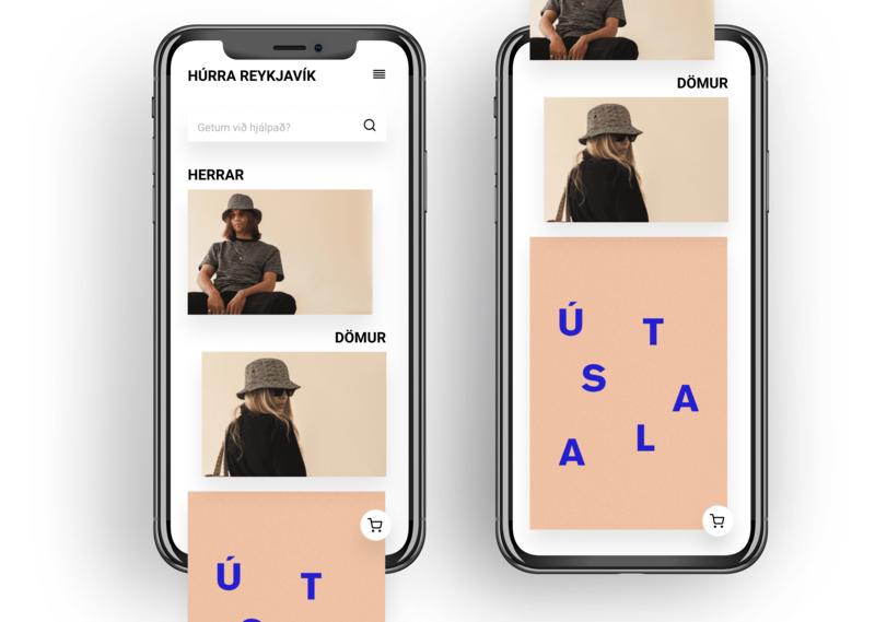 Simple mobile website mobile ui design web design ux ui