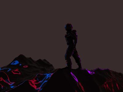 Above Mars - 3D Art