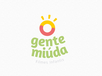 Gente Miúda - Logo Vertical