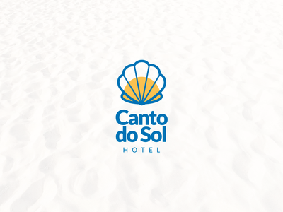 Canto do Sol - Logo Vertical