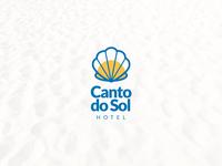 Canto do Sol - Logo Vertical