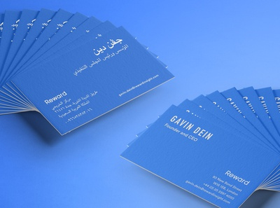 Fintech business cards