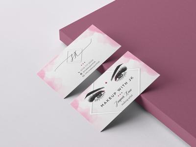 Make up artist business cards