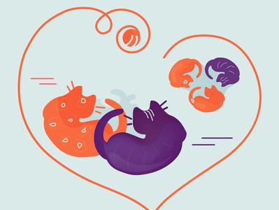 Cats Heart