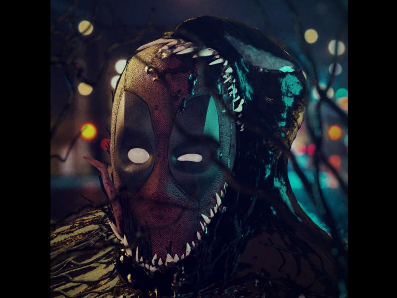 Deadpool vs Venom 3d blender3d artwork render venom deadpool