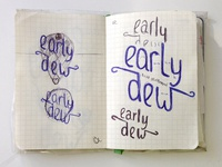 Early earlydew.com sketches