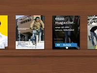 Magazine plank