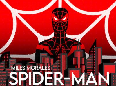Miles Morales Spider-man miles morales spiderman marvelcomics illustrator amateur illustration flat adobe photoshop