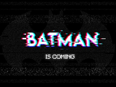 Batman Glitch dccomics glitch photoshop batman