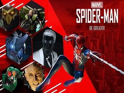 Spiderman Ps4 Promo Final photoshop adobe graphic fanart ps4 sony spiderman