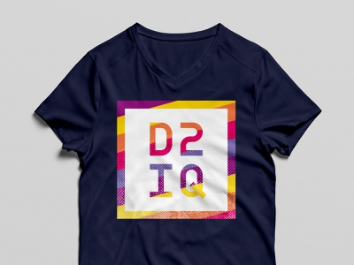 D2iQ employee shirts event mockup shirt design