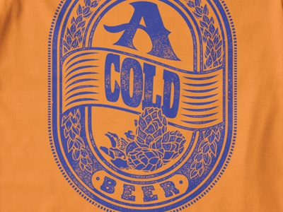 T Shirt Design 1493 beer typography typography print typography design malt beer tag beer label