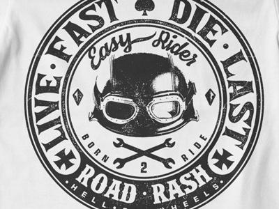 T Shirt Design 1510 biker biker print biker t-shirt fas ride speed