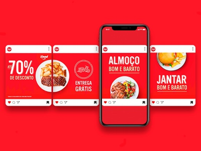 iFood    Carousel Ad google ad carousel social media performance media kit ifood graphic design food delivery food app food design digital campanha campaigns benner advertising design advertising campaign campaign advertising