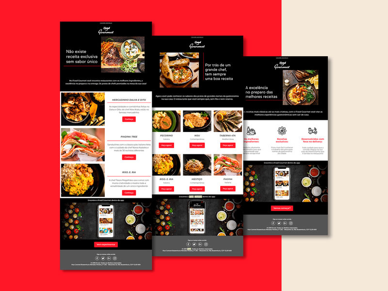 iFood | Emails iFood Gourmet
