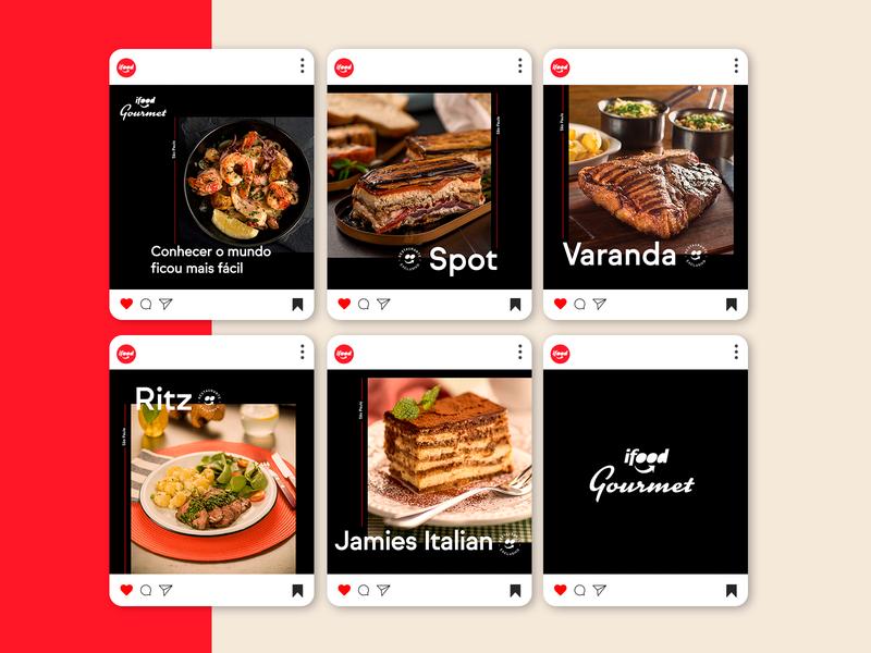 iFood | Carousel iFood Gourmet