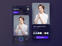 Professional Portrait App-[Impress]